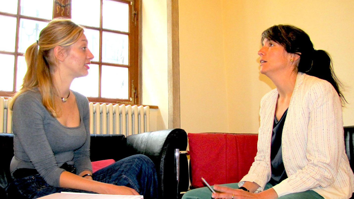 Claudia Hoffmann im Interview